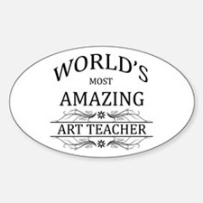 World's Most Amazing Art Teac Decal