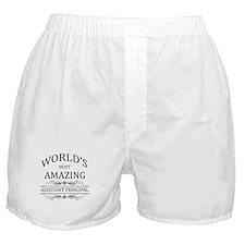World's Most Amazing Assistant Princi Boxer Shorts