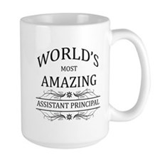 World's Most Amazing Assistant Principa Mug