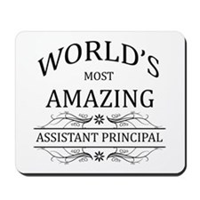 World's Most Amazing Assistant Principal Mousepad