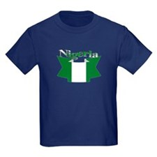 Nigeria flag ribbon T