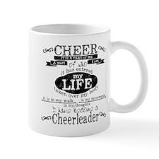 Chalkboard Cheerleading Mugs