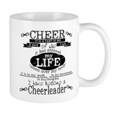Chalkboard Cheerleading Mugs