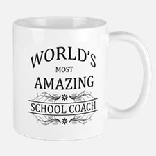 World's Most Amazing School Coach Mug