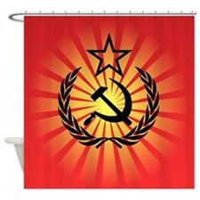Hammer And Sickle Shower Curtain