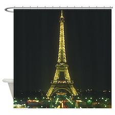 Eiffel Tower Shower Curtain