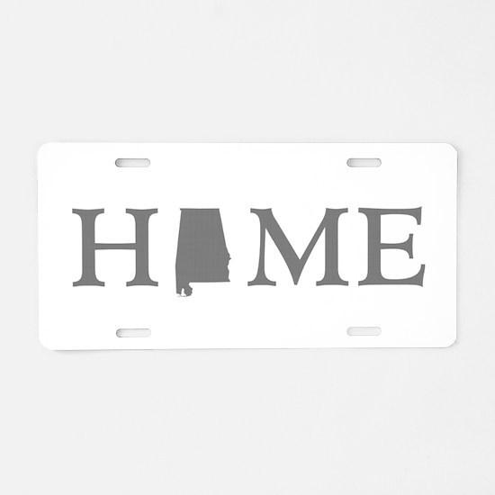 Alabama home state Aluminum License Plate