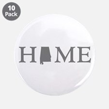 "Alabama home state 3.5"" Button (10 pack)"