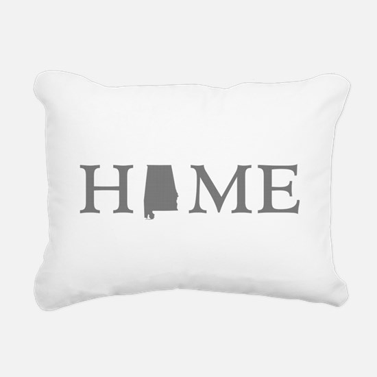 Alabama home state Rectangular Canvas Pillow