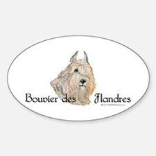 Bouvier Sweetie Decal