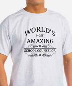 World's Most Amazing School Counselo T-Shirt