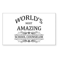 World's Most Amazing School Co Decal
