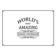 World's Most Amazing School Counselor Banner