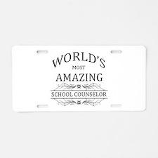 World's Most Amazing School Aluminum License Plate
