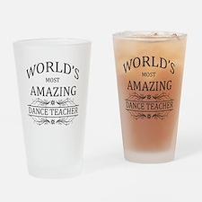 World's Most Amazing Dance Teacher Drinking Glass