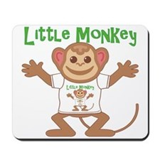 Little Monkey Boy Mousepad