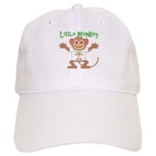 Little Monkey Boy Baseball Baseball Cap
