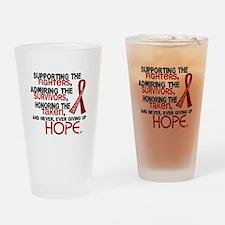 ©Tribute Poem Multiple Myeloma Drinking Glass