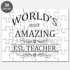 World's Most Amazing ESL Teacher Puzzle