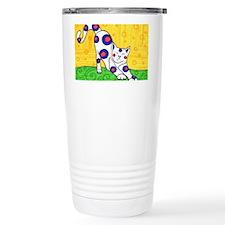 Yoga Cat Travel Mug
