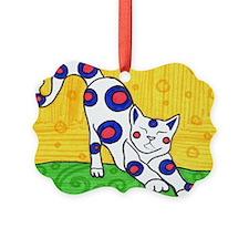 Yoga Cat Ornament