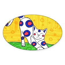 Yoga Cat Decal