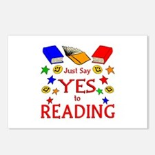 Yes to Reading Postcards (Package of 8)