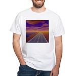 Lonesome Trucker White T-Shirt