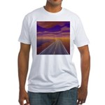 Lonesome Trucker Fitted T-Shirt