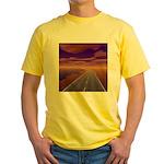 Lonesome Trucker Yellow T-Shirt