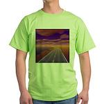 Lonesome Trucker Green T-Shirt