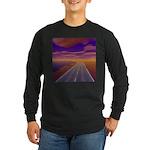 Lonesome Trucker Long Sleeve Dark T-Shirt