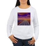 Lonesome Trucker Women's Long Sleeve T-Shirt