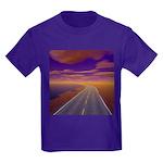 Lonesome Trucker Kids Dark T-Shirt