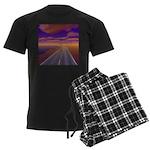 Lonesome Trucker Men's Dark Pajamas