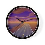 Lonesome Trucker Wall Clock