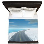 Ice Road King Duvet