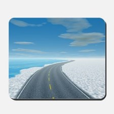 Ice Road Mousepad