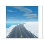 Ice Road Small Poster