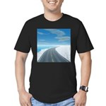 Ice Road Men's Fitted T-Shirt (dark)