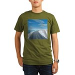 Ice Road Organic Men's T-Shirt (dark)