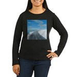 Ice Road Women's Long Sleeve Dark T-Shirt