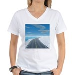 Ice Road Women's V-Neck T-Shirt
