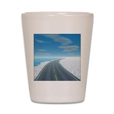 Ice Road Shot Glass