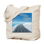 Ice Road Tote Bag