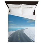 Ice Road Queen Duvet