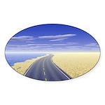 Fine Day Sticker (Oval 50 pk)