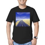 Fine Day Men's Fitted T-Shirt (dark)