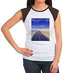 Fine Day Women's Cap Sleeve T-Shirt