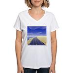 Fine Day Women's V-Neck T-Shirt